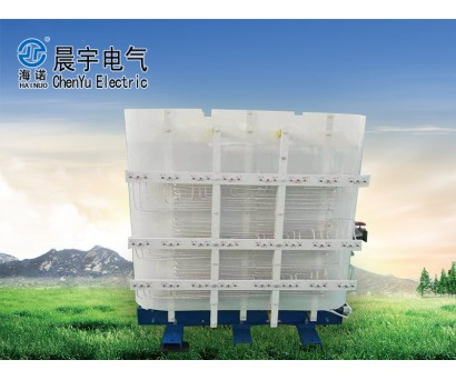 Unsealed 48 pulse phase-shifted rectifier dry type transformer for variable frequency speed regulation